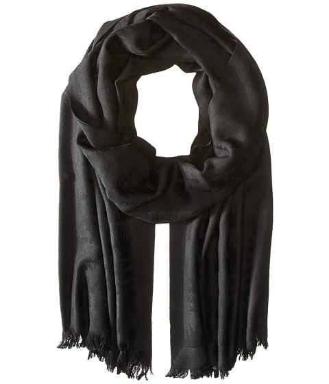 Pendleton Luxe Weave Wool Scarf - Black