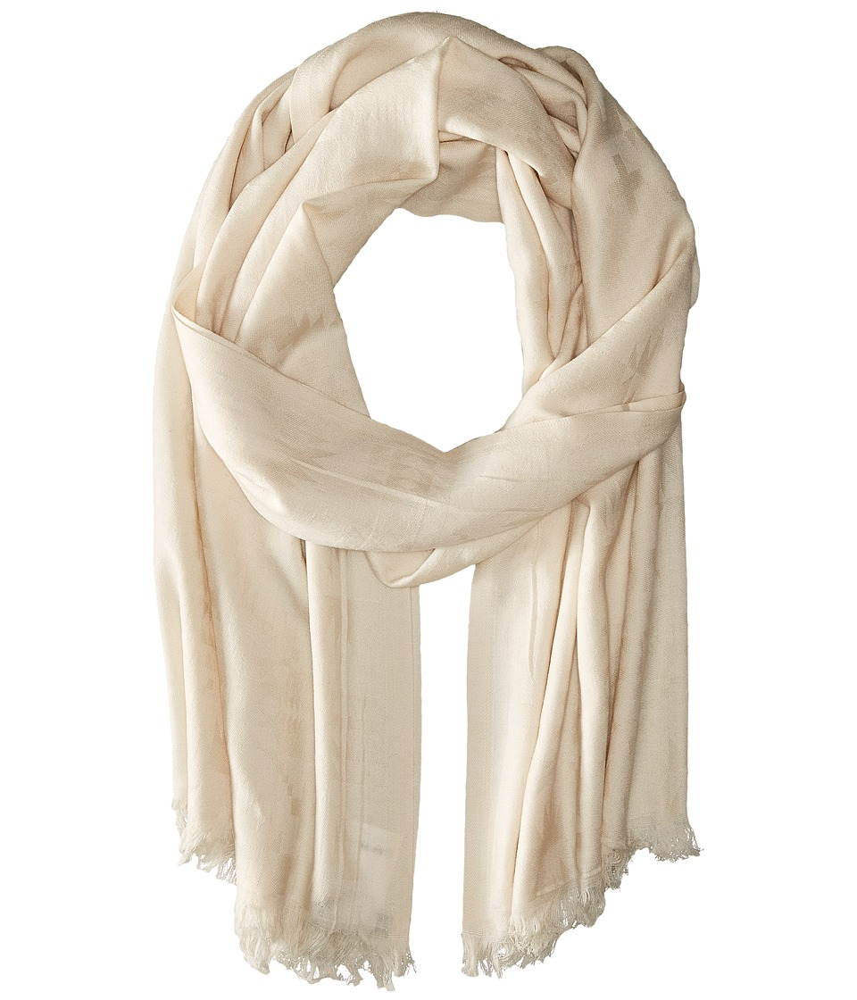 Pendleton Luxe Weave Wool Scarf Ivory Scarves