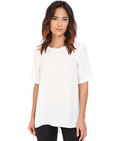 Vince Camuto - Elbow Sleeve High-Low Hem Blouse