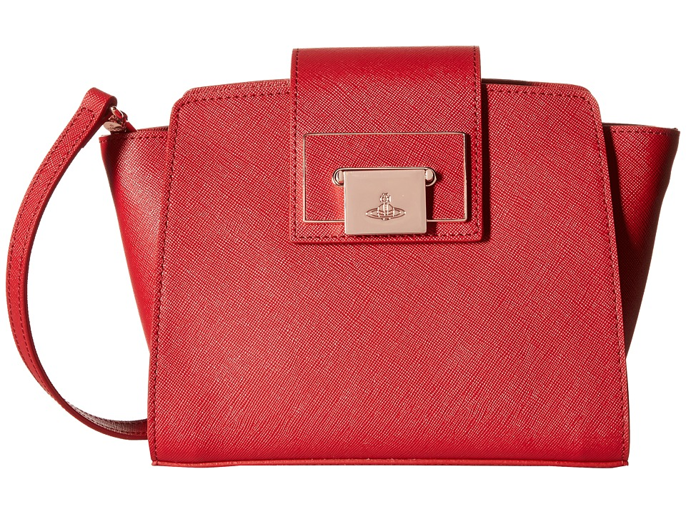Vivienne Westwood - Opio Saffiano (Red) Cross Body Handbags
