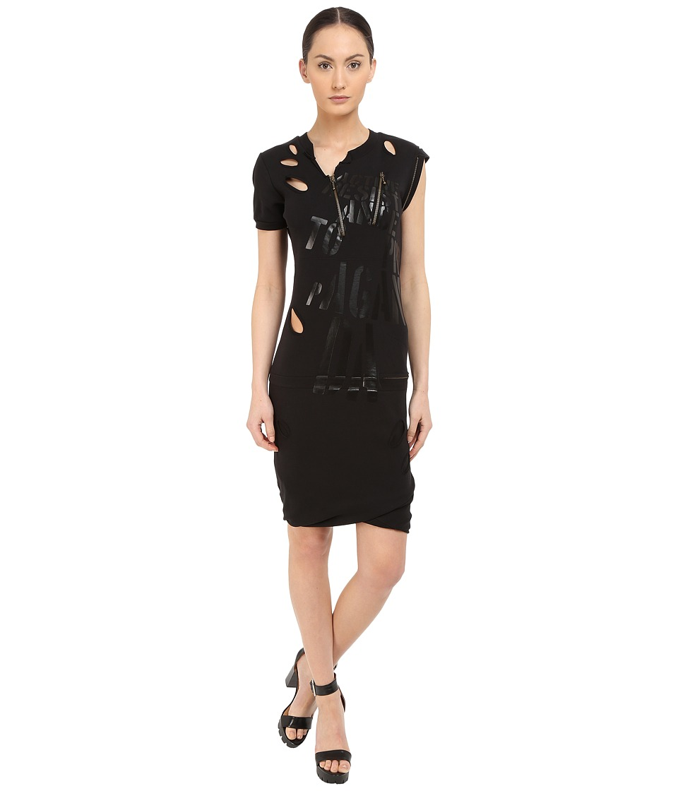 Vivienne Westwood Active Resistance Punk Dress Black Womens Dress
