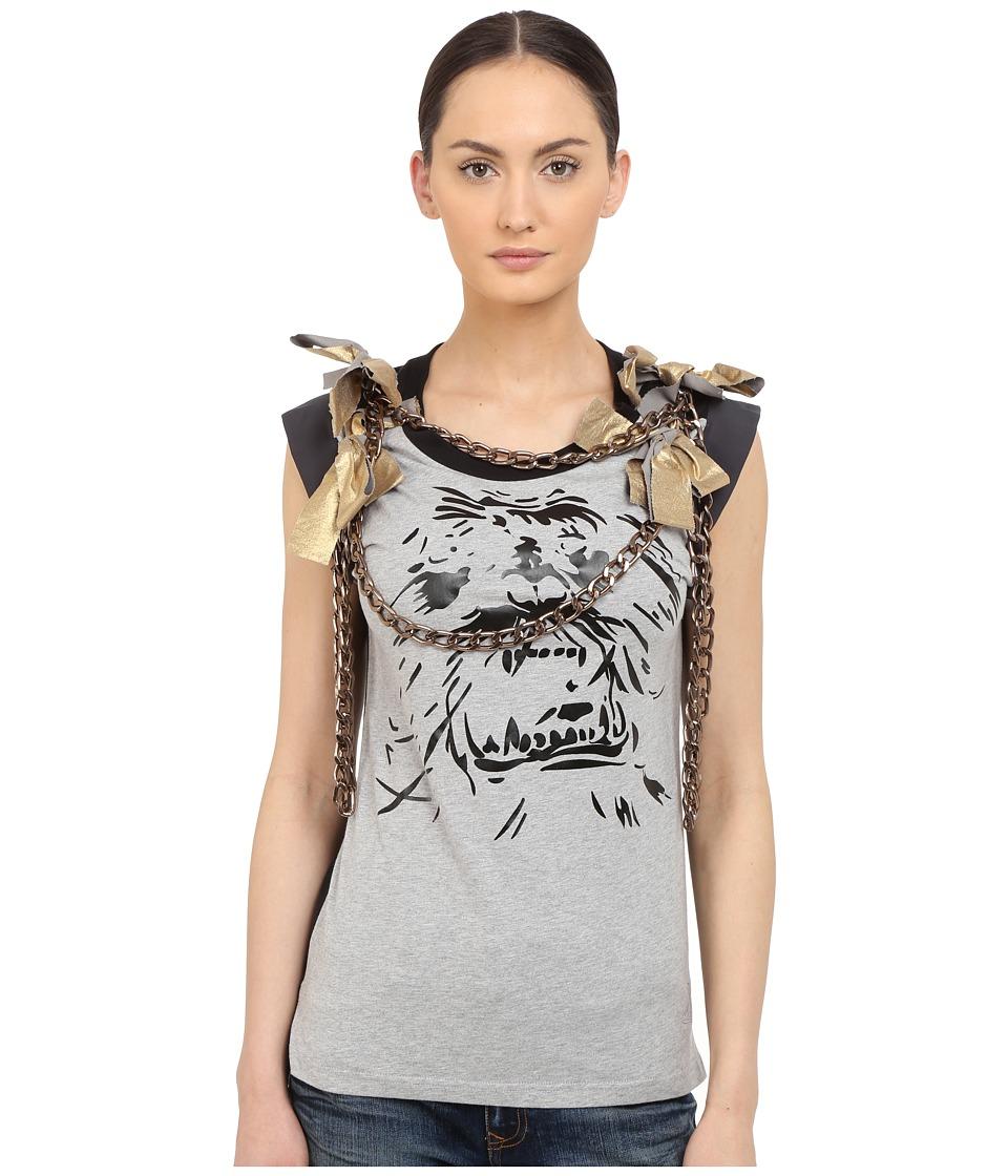 Vivienne Westwood - Yeti Chain T-Shirt (Grey Melange) Women