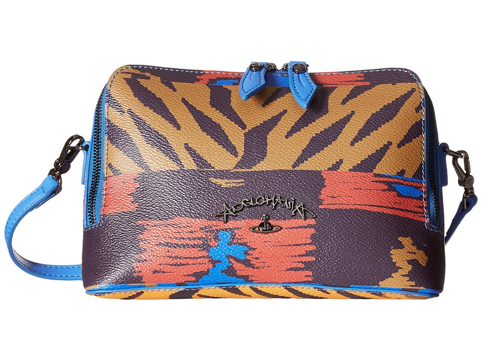 Vivienne Westwood - Tigermania (Blue) Cross Body Handbags