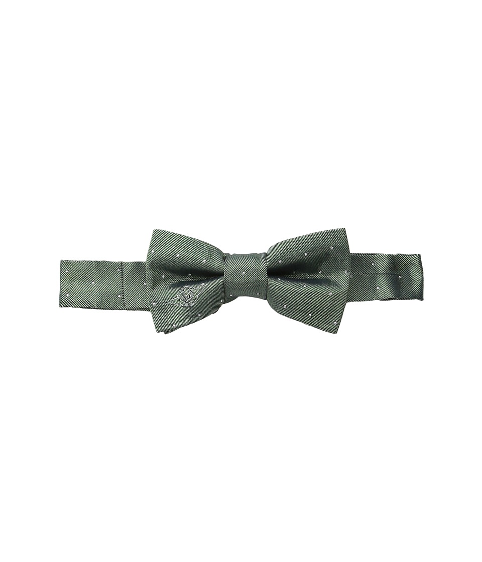 Cufflinks Inc. Star Wars Embroidered Yoda Micro Dot Silk Bow Tie Toddler/Little Kid/Big Kid Green Ties
