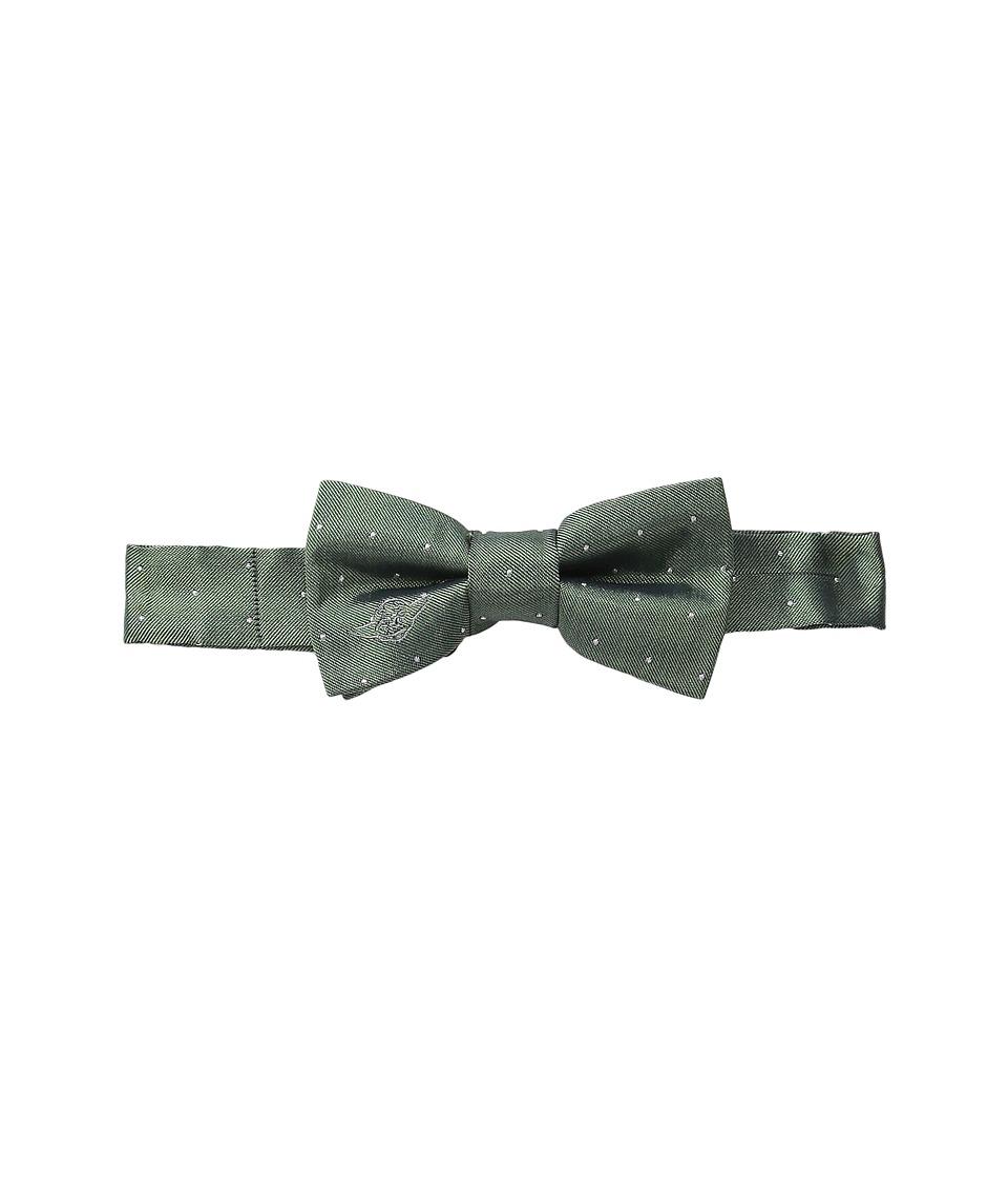 Cufflinks Inc. - Star Warstm Embroidered Yoda Micro Dot Silk Bow Tie