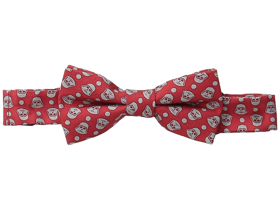 Cufflinks Inc. - Star Warstm Darth Vader Tight Dot Silk Bow Tie (Toddler/Little Kid/Big Kid) (Red) Ties