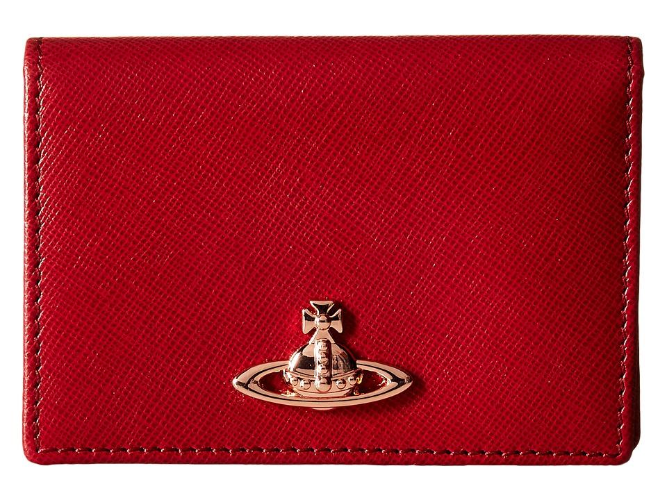 Vivienne Westwood - Opio Saffiano (Red) Wallet Handbags