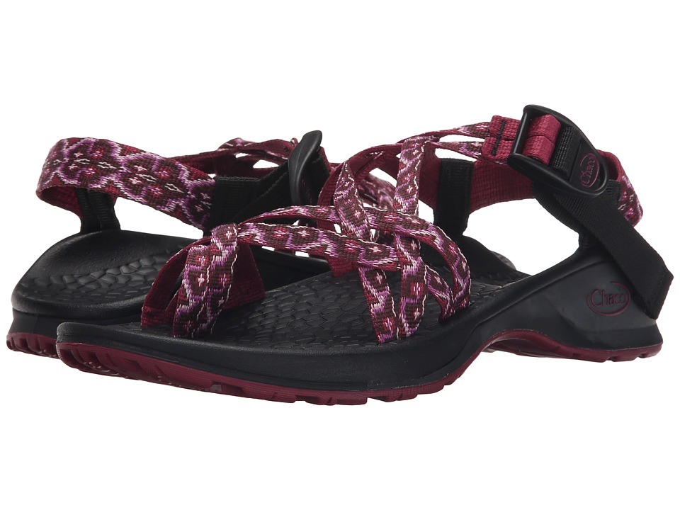 Chaco Updraft EcoTread X2 Bombina Beet Womens Sandals