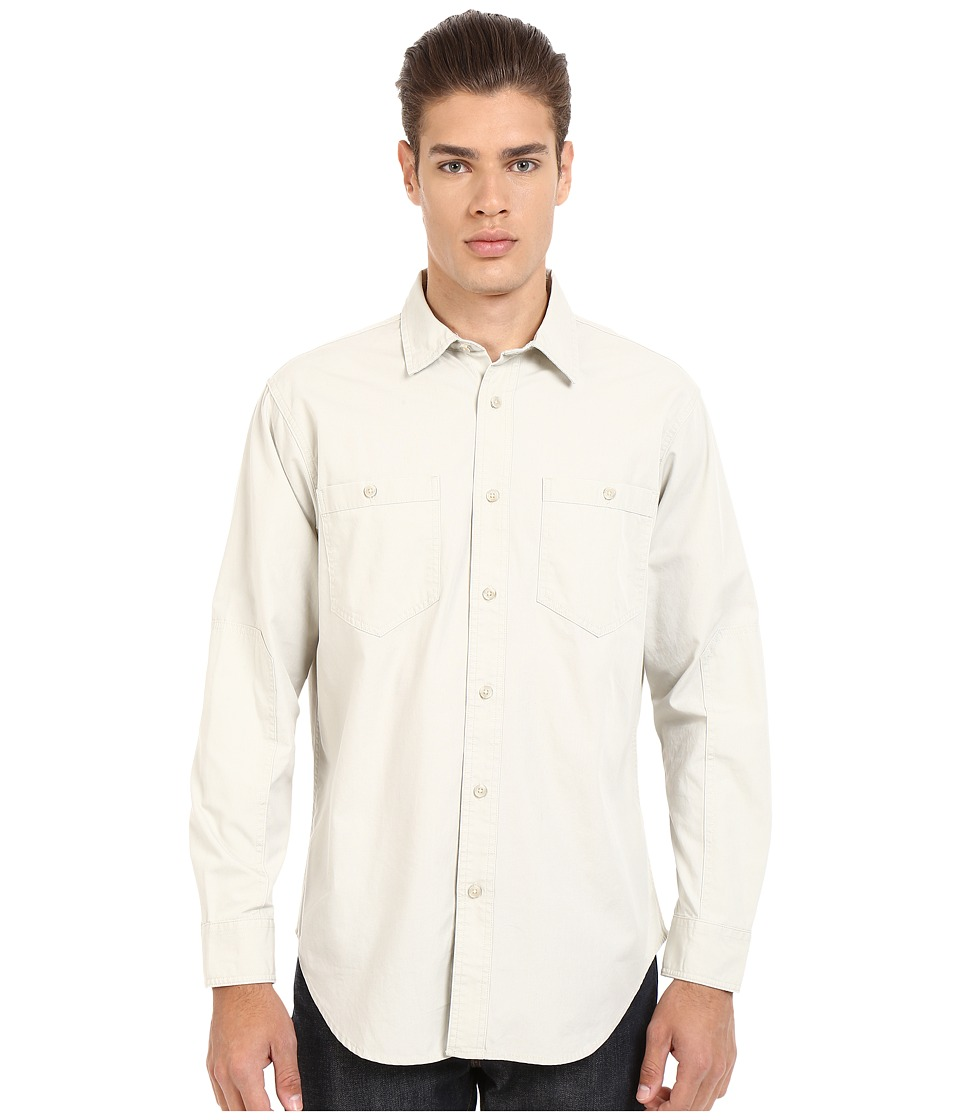 Filson Buckhorn Field Shirt Grey Sky Mens Clothing