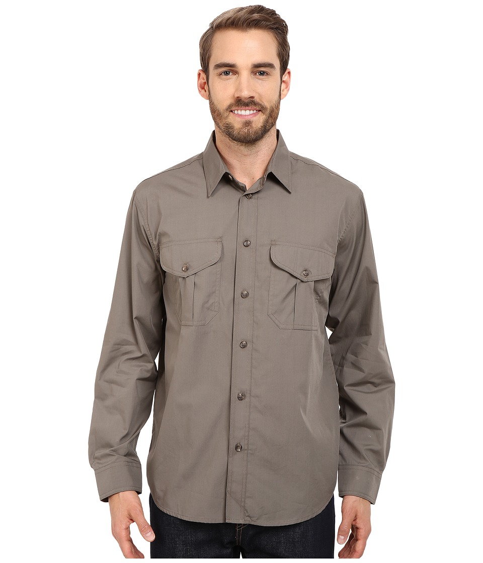 Filson Filsons Feather Cloth Shirt Olive Mens Clothing