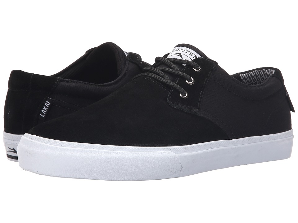 Lakai MJ Black Suede/Canvas 1 Mens Skate Shoes