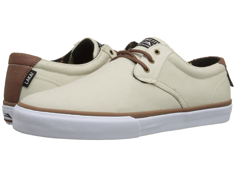 Lakai MJ Cream Canvas Mens Skate Shoes