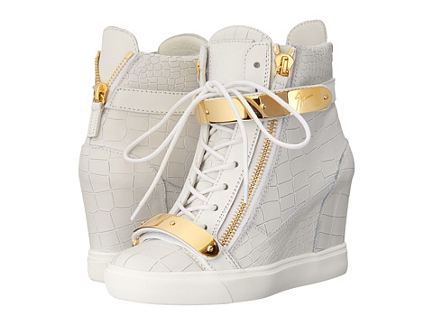 Giuseppe Zanotti Print Wedge with Ankle Band