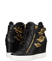Giuseppe Zanotti - Hi-Top Wedge Winged Sneaker