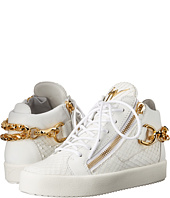 Giuseppe Zanotti - Back Chain Double-Zip Sneaker