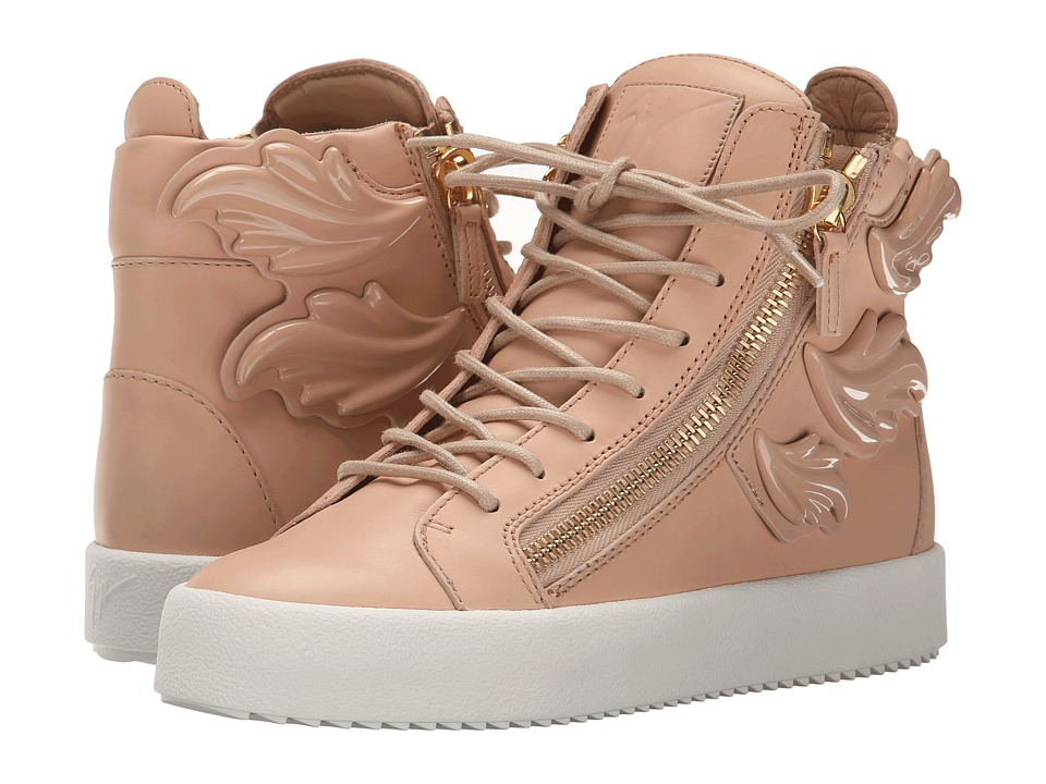 Giuseppe Zanotti - Hi-Top Winged Sneaker (Birel Shell) Women