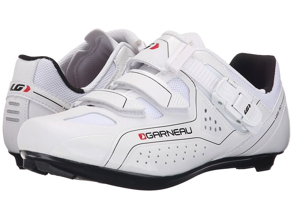 Louis Garneau Copal White Mens Cycling Shoes