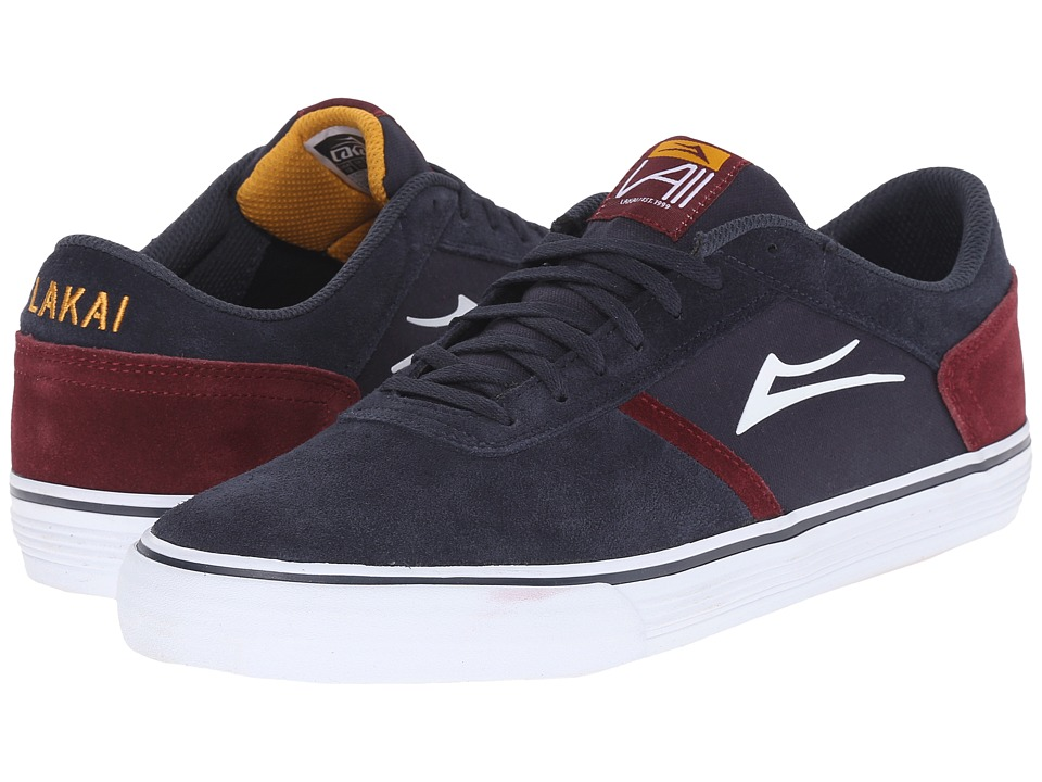 Lakai Vincent 2 Navy Suede Mens Skate Shoes