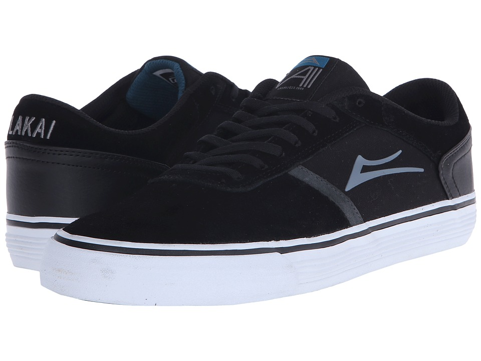 Lakai Vincent 2 Black Suede Mens Skate Shoes