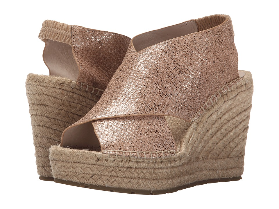 Kenneth Cole New York Ona Rose Gold Womens Wedge Shoes