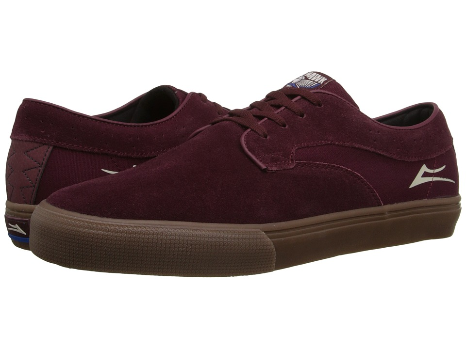 Lakai Riley Hawk Port Suede Mens Skate Shoes