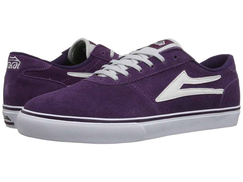 Lakai Manchester Purple Suede Mens Shoes
