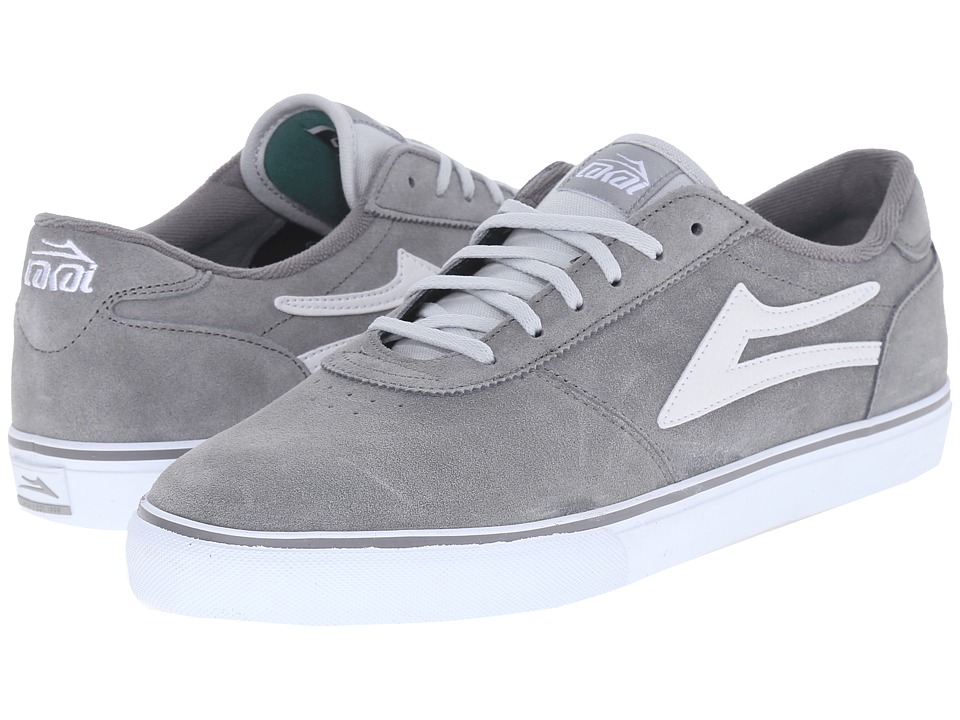 Lakai Manchester Grey Suede Mens Shoes
