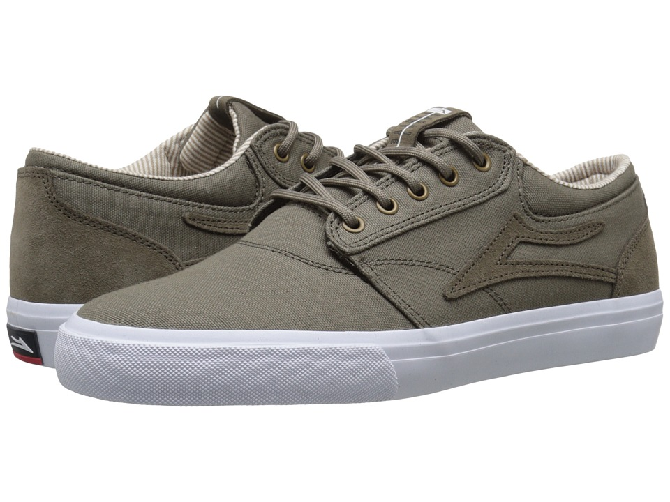 Lakai Griffin Walnut Canvas Mens Skate Shoes