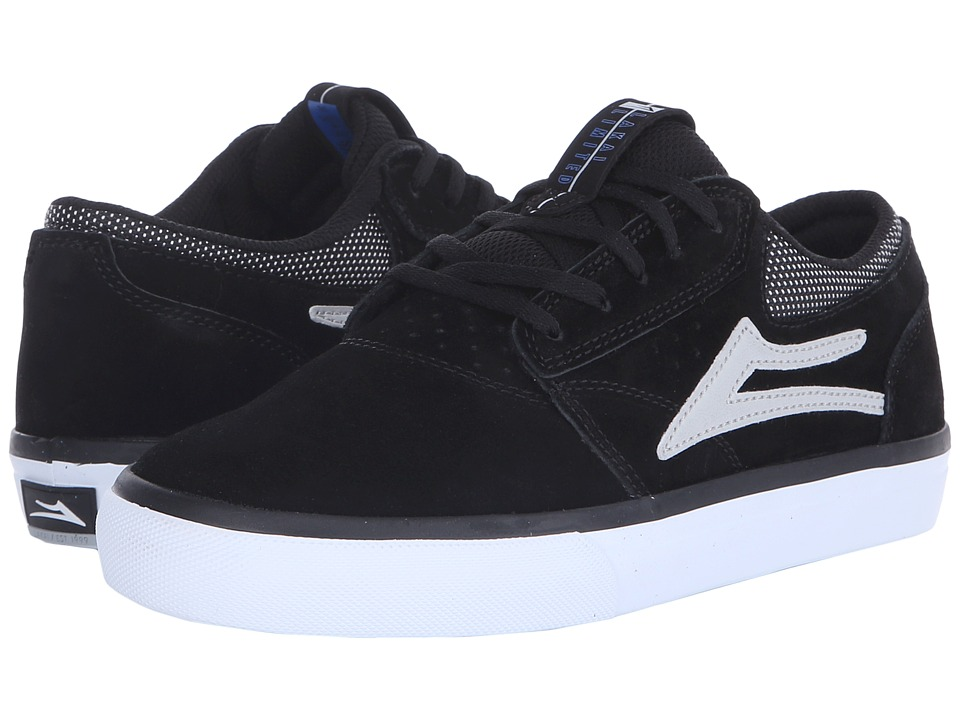 Lakai Griffin Black/Grey Suede Mens Skate Shoes