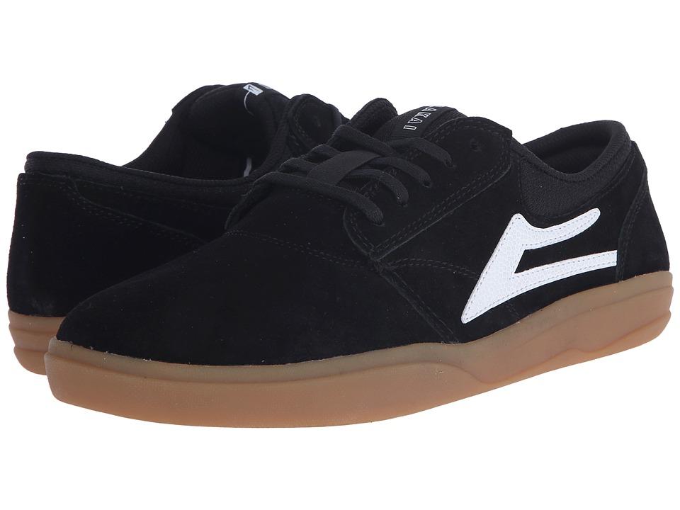 Lakai Griffin XLK Black/Gum Suede Mens Skate Shoes