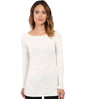 Michael Stars - Sweater Knit Long Sleeve Boat Neck Tunic