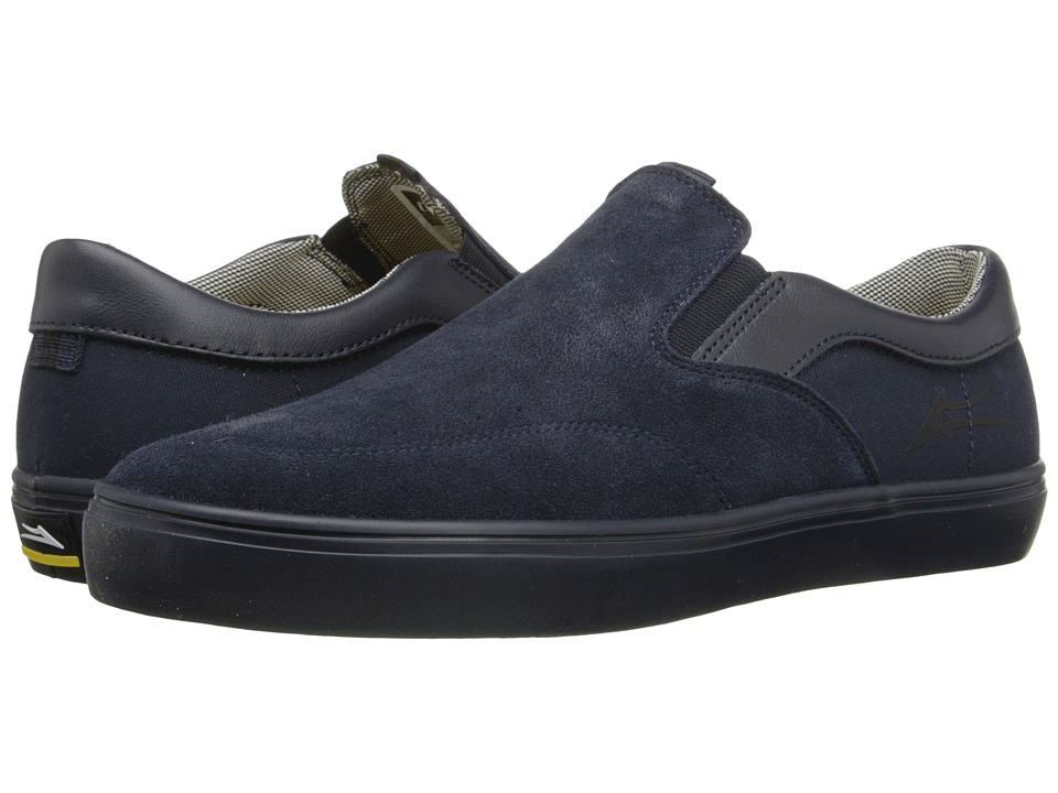 Lakai Owen Navy Suede 2 Mens Skate Shoes