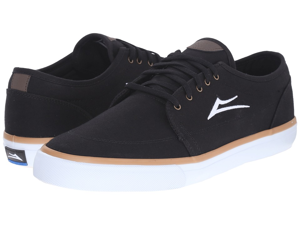 Lakai Madison Black Canvas 1 Mens Skate Shoes