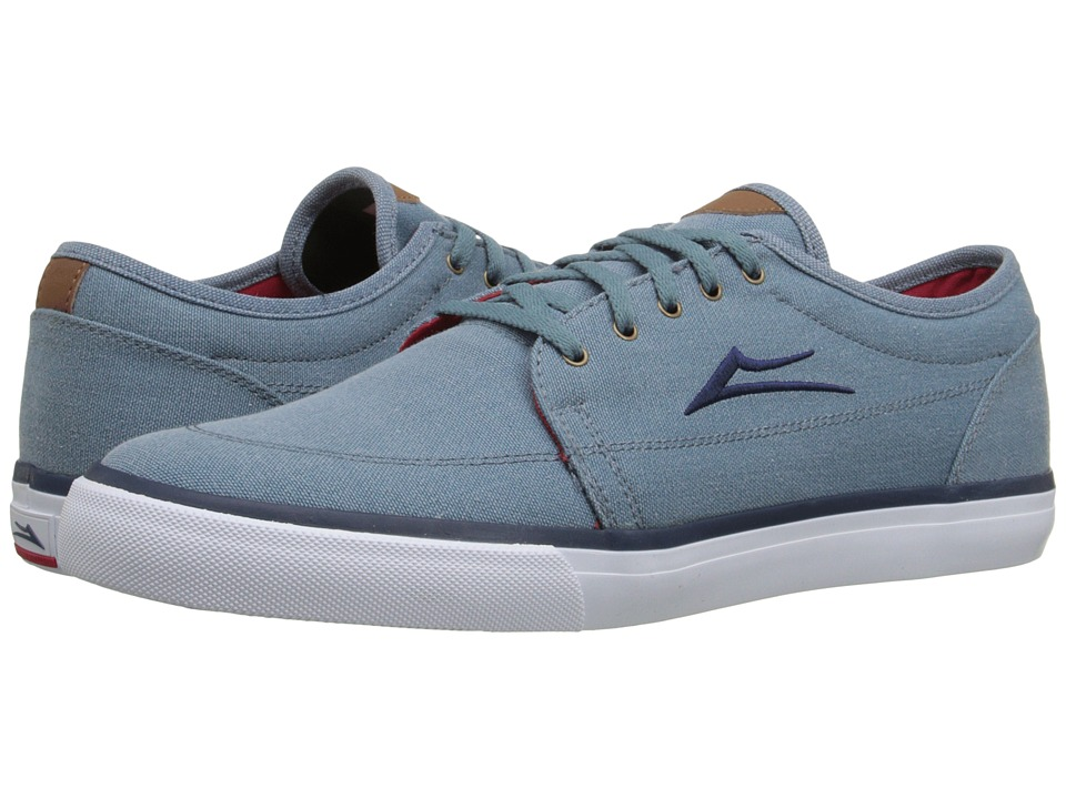 Lakai Madison Stonewash Canvas Mens Skate Shoes