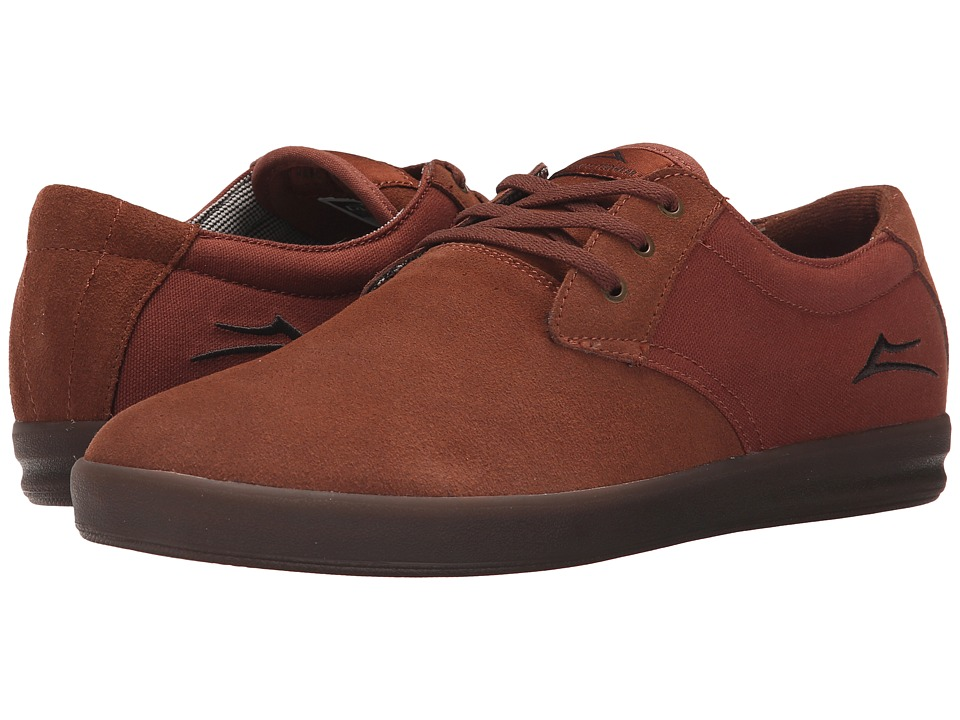 Lakai MJ XLK Copper Suede Mens Skate Shoes