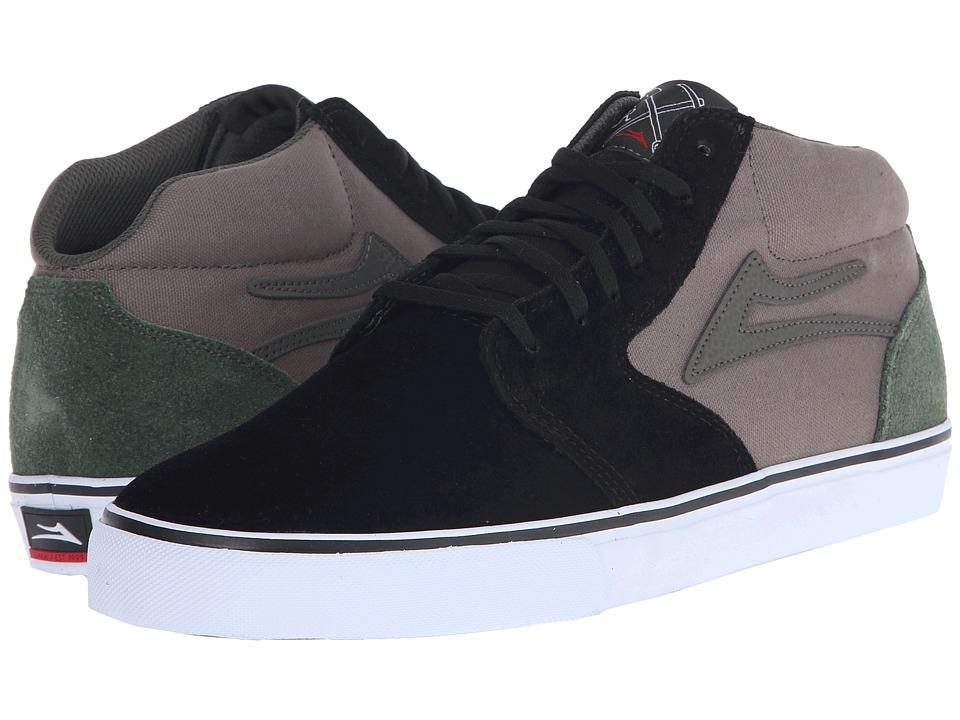 Lakai Fura High Black/Walnut Suede Mens Skate Shoes