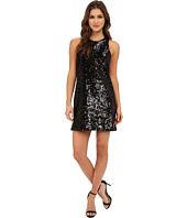 Michael Stars - Sequin Sleeveless Crew Neck Shift Dress