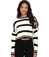 Gabriella Rocha - Jan Stripe Crop Sweater