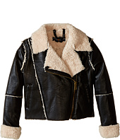 Lucky Brand Kids - Vegan Leather Moto Jacket (Little Kids)