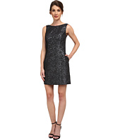 Aidan Mattox - Sleeveless Foil Jacquard Dress