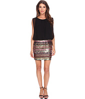 Aidan Mattox - Multicolor Sequin Blousson Dress