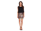 Multicolor Sequin Blousson Dress