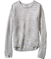 Lucky Brand Kids - Cindy Mesh Hi-Lo Sweater (Big Kids)
