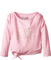 Lucky Brand Kids - Long Sleeve Lotus Stud Tee (Toddler)