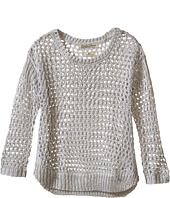 Lucky Brand Kids - Cindy Mesh Hi-Lo Sweater (Toddler)