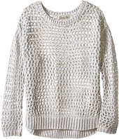 Lucky Brand Kids - Cindy Mesh Hi-Lo Sweater (Little kids)