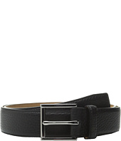 Cole Haan - 32mm Stitched Edge Pebble Leather Belt
