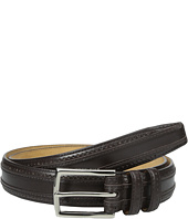Cole Haan - 30mm Feather Edge Stitched Strap with Perforation and Overlay Detail