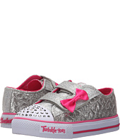 SKECHERS KIDS - Twinkle Toes - Shuffles 10600N Lights (Toddler/Little Kid)