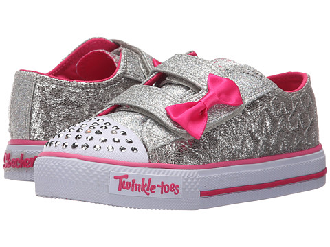 SKECHERS KIDS Twinkle Toes - Shuffles 10600N Lights (Toddler/Little Kid)